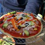 飛陽の誕生ピザパーティー